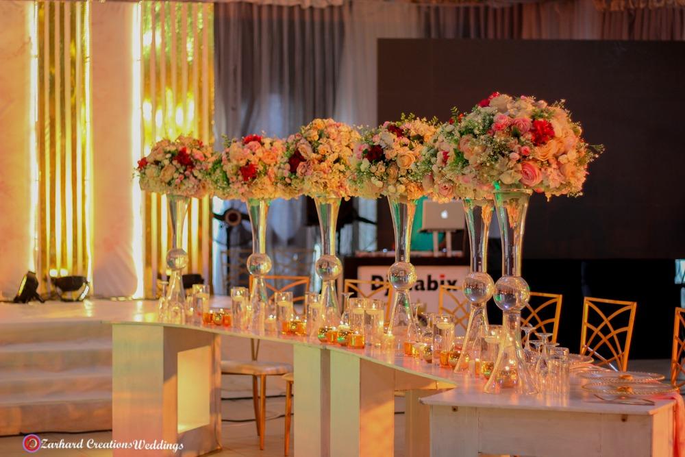 wedding centerpieces bridal table wedding decor and centerpieces blush floral arrangement