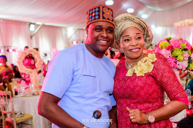 celebrity wedding in lagos nigeria