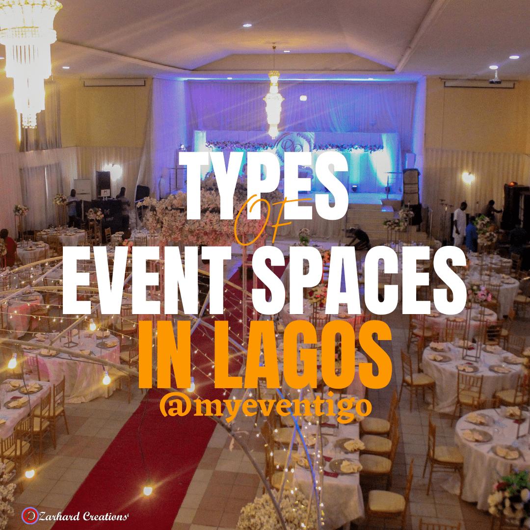 event spaces in Lagos